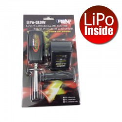 Prolux LiPo (1S-1200mAh) Glow Ignitor W/Led Indicator & Charger