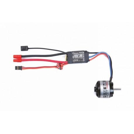 Graupner HPD 3515-1100 11,1V Brushless Motor Set