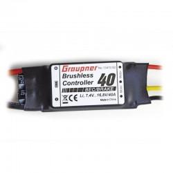 Graupner Bushless Controller ESC 40 Husky 1800S