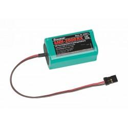 Graupner Receiver Battery 4NH-2000 RX RTU JR-Plug