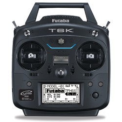 Futaba 6K 6-Channel 2.4GHz Computer Radio System with Battery and Charger