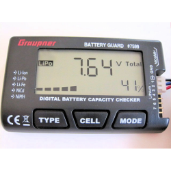 Graupner Battery Guard - LiPo-LiLo-LiFe-NiMh-NC