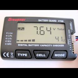 Graupner Battery Guard - LiPo-LiLo-LiFe-NiMh-NC
