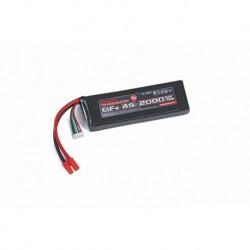 Graupner LiFe battery V-MAXX 30C 4S-2000 13.2 V G