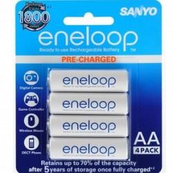 Pack Sanyo-Enloop 1.2 V - 2000 mah