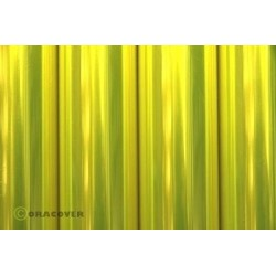 Oracover - Transparent fluor. yellow L- 60cm x C- 1m