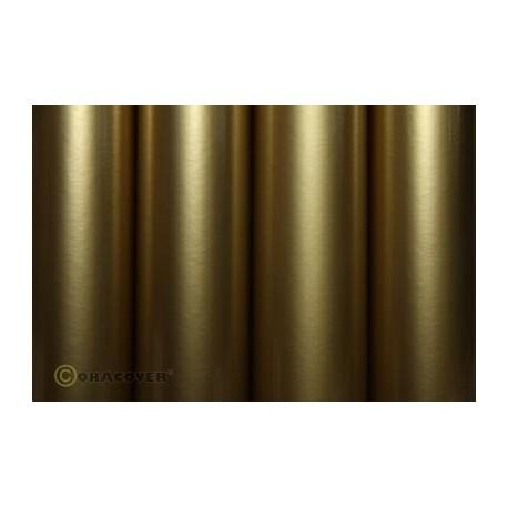 Oracover - Standard gold L- 60cm x C- 1m