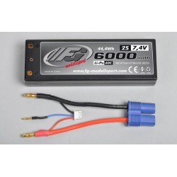 FG Battery Power-Pack Li-Po 2S 7,4V/6000 mAh 60C