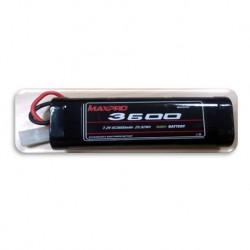 MAXPRO Battery Ni‐MH SC 7,2V 3600mAh