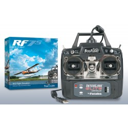 RealFlight 7.5 RC Flight Simulator InterLink Elite Controller Edition