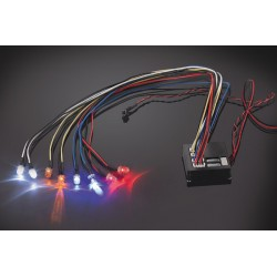 Fastrax Flashing Light Kit Multiple Functions 8-led Light
