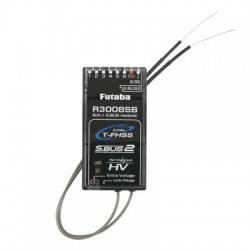 Futaba R3008SB S.Bus2 T-FHSS Telemetry Receiver