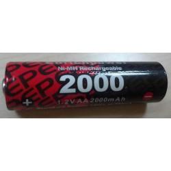 Bateria NiMH AA 1,2V 2000mAh (LR6)