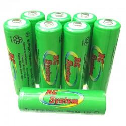 Bateria NiMH AA 1,2V 2300mAh (LR6)