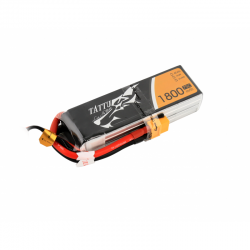 Tattu 1800mAh 14.8V 75C 4S1P Lipo Battery Pack