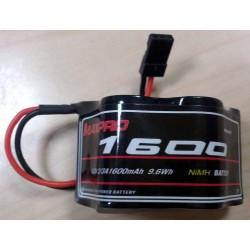 MAXPRO Battery Ni‐MH 2/3A 6,0V 1600mAh