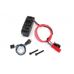 Traxxas LED Lights Power Supply (regulated, 3V, 0.5-amp) 3-in-1 Wire Harness for TRX-4