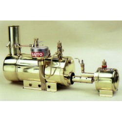 Saito Steam Boiler and Burner B2F