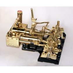 Saito Horizontal 2-Cylinder Steam Engine Y2DR