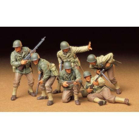 Tamiya 1:35 US Army Infantry 6 Figures