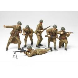 Tamiya 1/35 WWII Figure Set French Infantry