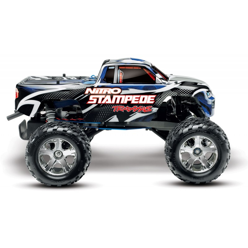 Traxxas 1/10 Nitro Stampede 2WD Monster Truck RTR