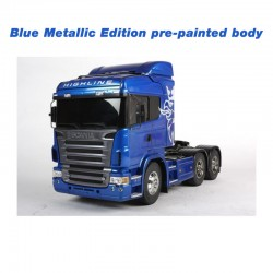 Tamiya 1/14 RC LKW Scania R620 Highline 6x4 (Blue Metallic Edition)