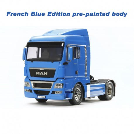 Tamiya 1/14 MAN TGX 18.540 4x2 XLX (French Blue Edition)