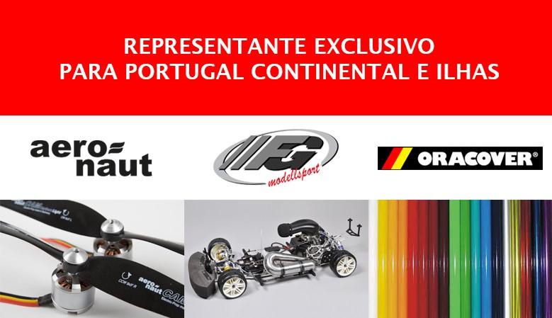Representações exclusivas para AERONAUT, FG MODELLSPORT e ORACOVER