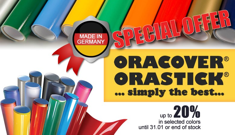 Special Offer Oracover | Orastick