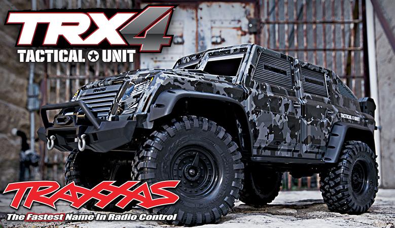 Traxxas TRX-4 Tactical Unit Rapid-Response Vehicle 1/10