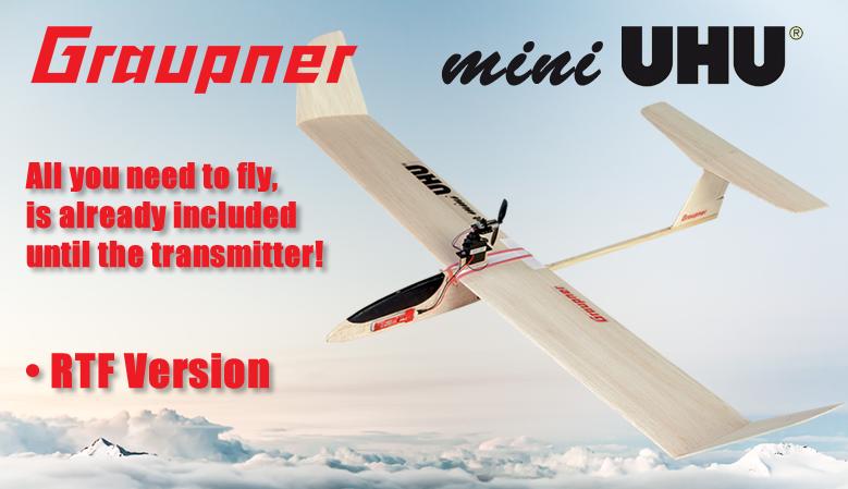 Graupner Free-Flight Model »Der mini UHU« 725 mm RTF