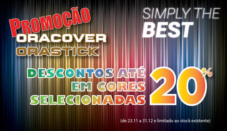 Promoção Oracover | Orastick