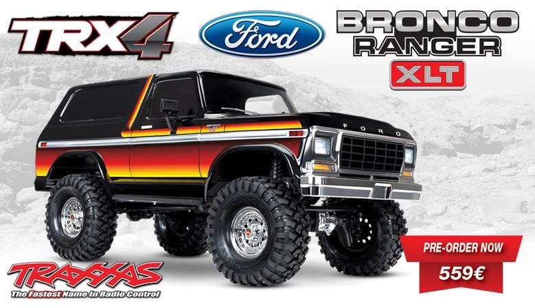Traxxas TRX-4 Ford Bronco Ranger XLT 1/10 Electric 4WD