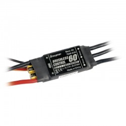 Graupner Electronic Speed Control (ESC) Brushless Control 60 SBEC XT-60