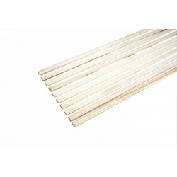 Graupner Pine Moldings 3x10x1000mm