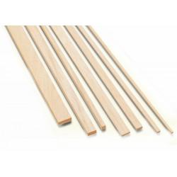 Graupner Longarina de Balsa 3x10x1000mm