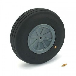 Du-Bro Large Scale Treaded Wheel 5-1/2""