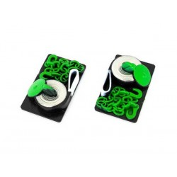 HobbyTech Winch Strap and Drag Chain Scale Decor - Green (2pcs)