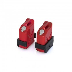 HobbyTech Jerry Can Canister Red with Holder (2 pcs.)