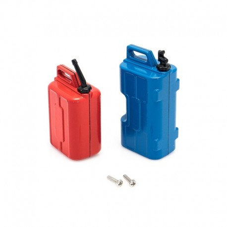 HobbyTech Canister Set 2 Sizes (water & gasoline) with Holders