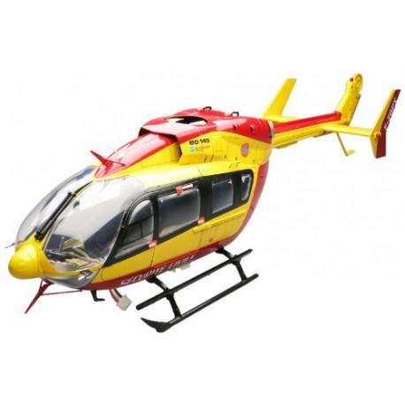 Hirobo Fuselagem EC Eurocopter EC145 para SRB SG2 Pintada