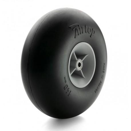 Topmodel Airtop Pneumatic Balloon Wheel D140 mm Pair with Bearings