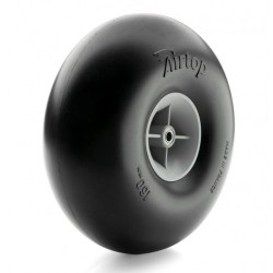 Topmodel Airtop Pneumatic Balloon Wheel D160 mm Pair with Bearings