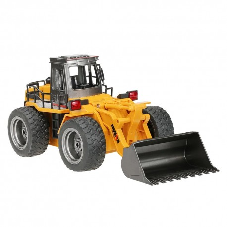 Huina 1520 1/18 RC Mini Bulldozer Engineering Truck RTR