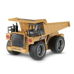 Huina 1540 1/18 RC Alloy Version Dump Engineering Truck RTR