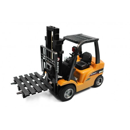 Huina 1577 1/10 RC Fork Lift with Die Cast Parts RTR