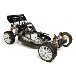 FG Leo 2020 2WD Competition Zenoah 26cc 1/6 Clear Body