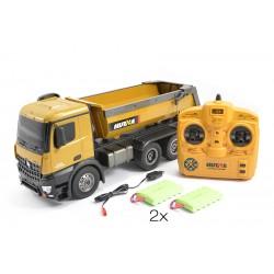 Huina 1573 1/14 RC Metal Dump Truck RTR