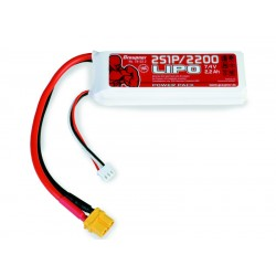 Graupner Power Pack LiPo 2S 2200 7,4 V 70C XT-60